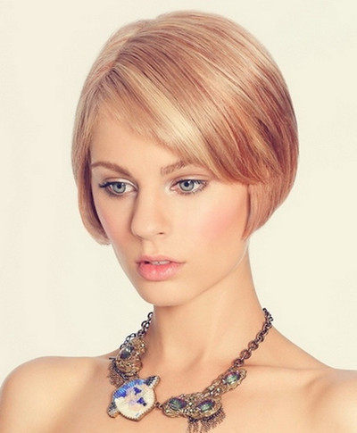 bridesmaid hairstyles for short hair | To Be A Stylish Bridesmaid