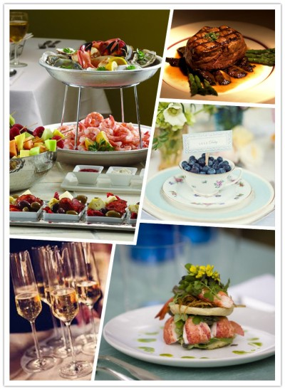 hotel wedding food and beverage