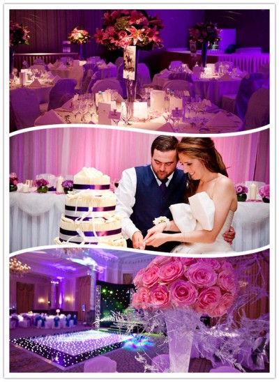 Royal Garden Hotel Purple Wedding