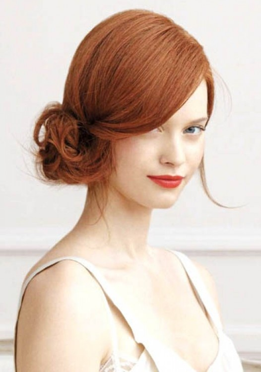 Peachy Bridesmaid Hairstyles To Be A Stylish Bridesmaid Hairstyle Inspiration Daily Dogsangcom