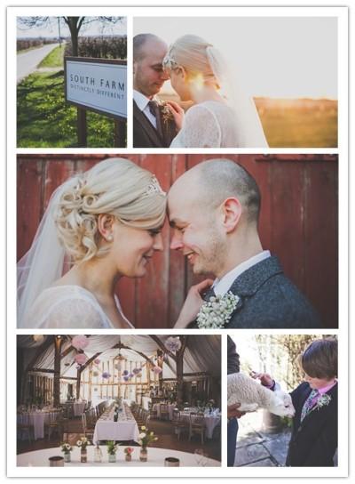 south farm rustic wedding in UK